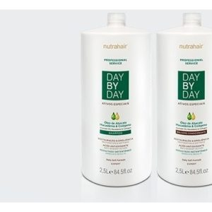 Linha Lavatório Day By Day Abacate Profissional Service – 2,5lt Nutra Hair