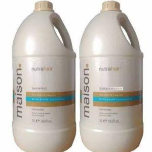 Shampoo e Condicionador Maison 5l Brilho Pérola – Nutra Hair
