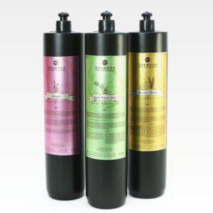 Óleos Essenciais – Shampoos para lavatório – Kit Completo – Boaz Hair – 4.500lt