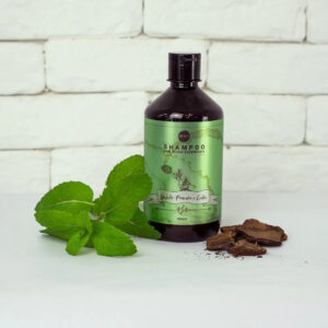 Óleos Essenciais – Shampoo de Hortelã Pimenta e Cedro – Boaz Hair – 500ml
